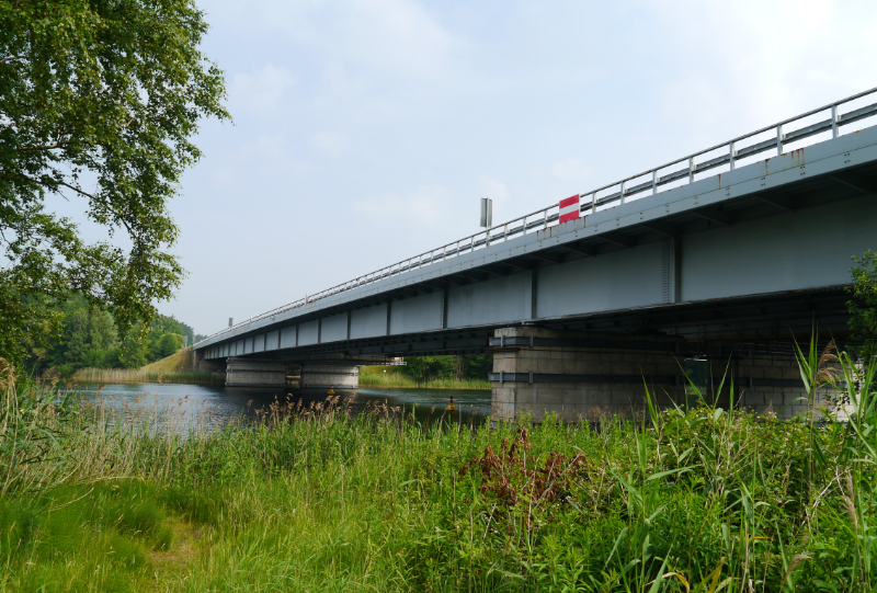Brücke Petersdorfer See Bundesautobahn A19