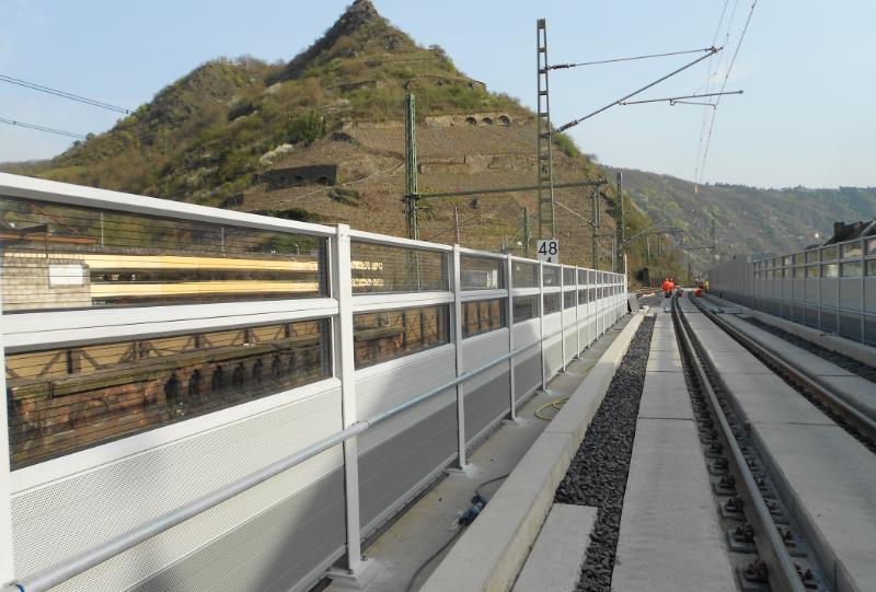 LSW Neuer Kaiser Wilhelm Tunnel in Cochem, DB-Strecke 3010