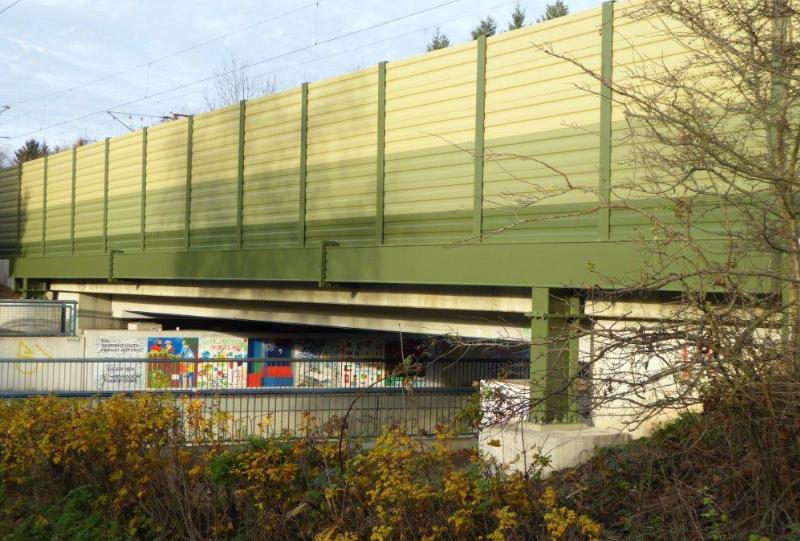 LSW Bremen Nord, DB Strecke 1740, EÜ An Smidts Park
